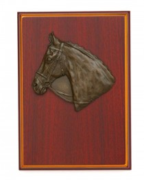 Relief Plaque Thoroughbred